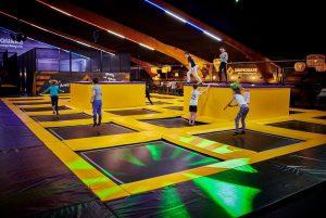 Jumpsquare trampolinehal Amsterdam Oost