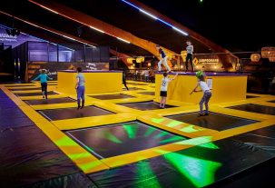 Jumpsquare trampolinehal Amsterdam Oost